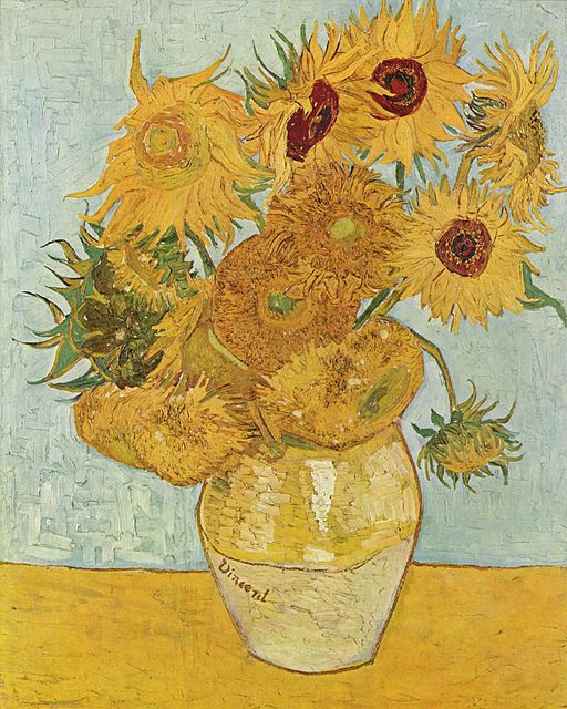 Vincent van Gogh Still Life: Vase with Twelve Sunflowers 1888
