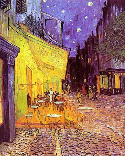Vincent van Gogh Café Terrace at Night 1888