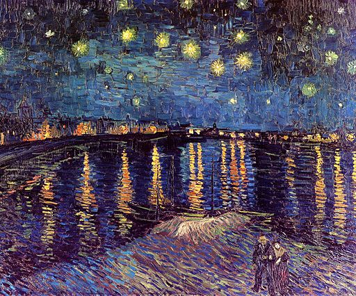 Vincent van Gogh Starry Night Over the Rhône 1888