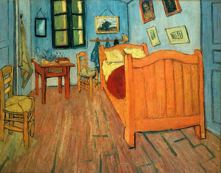 Vincent van Gogh Bedroom in Arles 1888