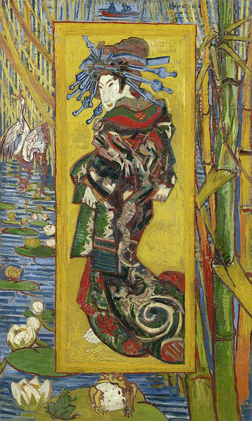 Vincent van Gogh Courtesan: after Eisen 1887