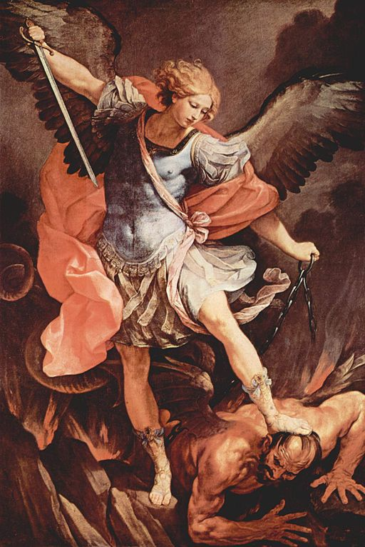 Guido Reni Archangel Michael 1636