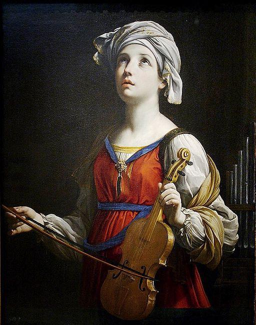 Guido Reni Saint Cecilia 1606