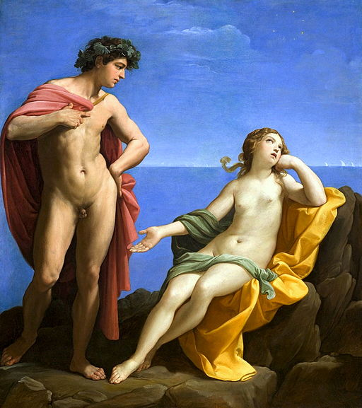 Guido Reni Bacchus and Ariadne 1619-1620