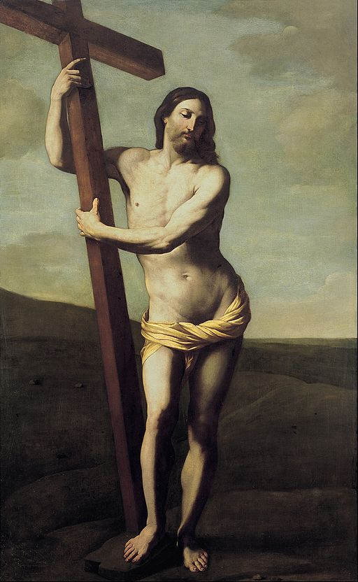 Guido Reni Jesus Christ with the cross 1621