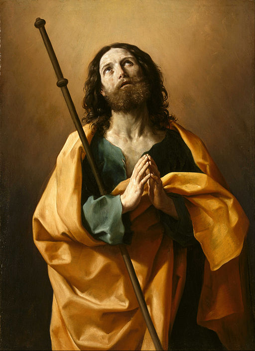 Guido Reni Saint James the Greater 1636-1638