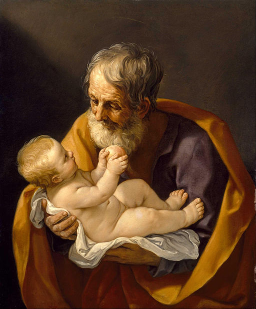Guido Reni Saint Joseph and the Christ Child 1640