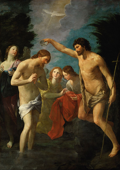 Guido Reni The Baptism of Christ 1622-1623