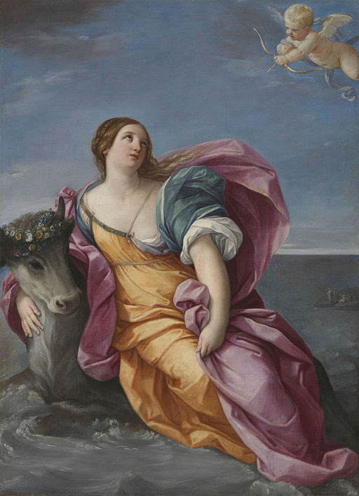 Guido Reni The Rape of Europa 1630