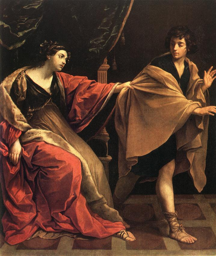 Guido Reni Joseph and Potiphar's Wife 1631