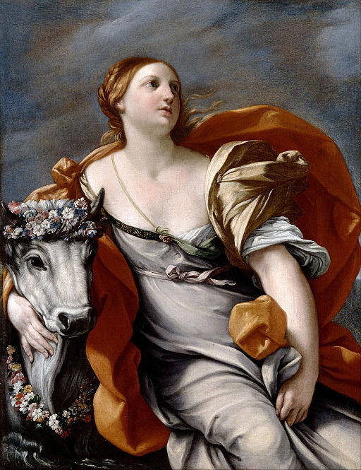 Guido Reni Europa and the Bull