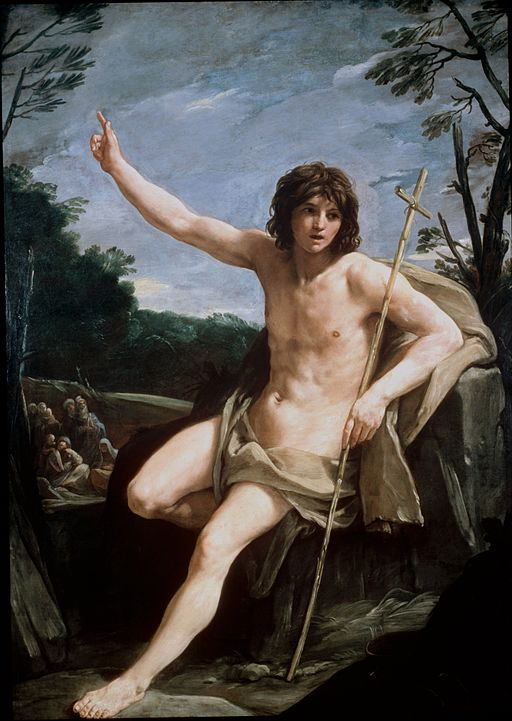 Guido Reni St John the Baptist in the Wilderness 1636-1637
