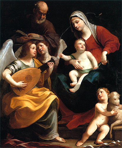 Guido Reni The Holy Family 1637