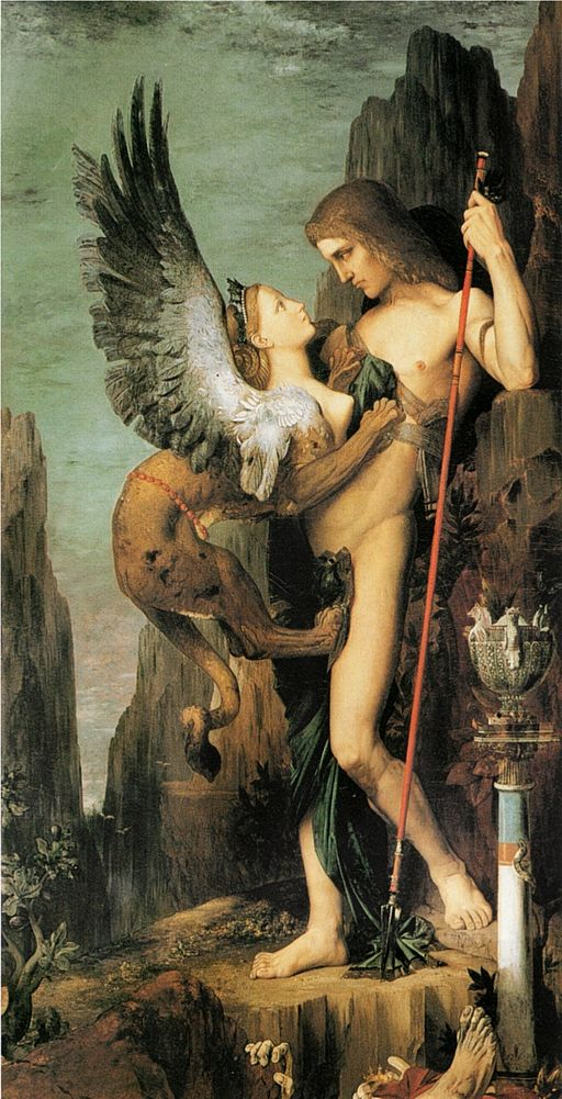 Gustave Moreau Oedipus and the Sphinx 1864