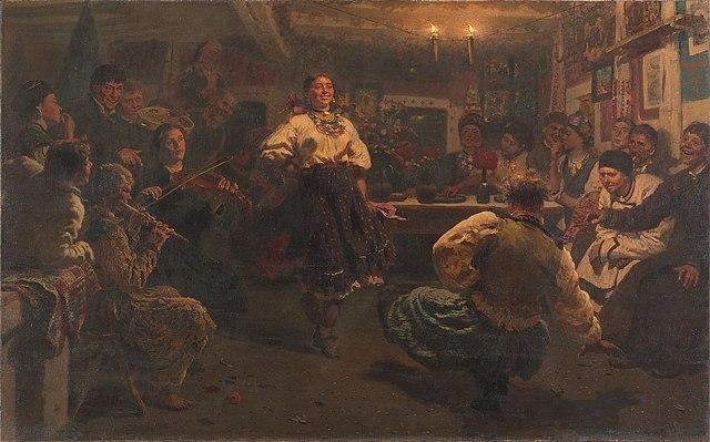 Ilya Repin Party 1881