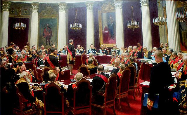 Ilya Repin Russian State Council commemorating its 100th anniversary 1903