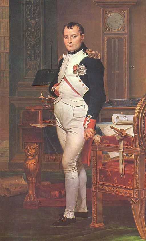 Jacques-Louis David The Emperor Napoleon in His Study at the Tuileries 1812
