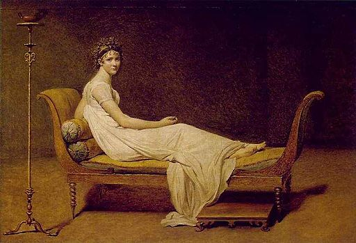 Jacques-Louis David Portrait of Madame Récamier 1800