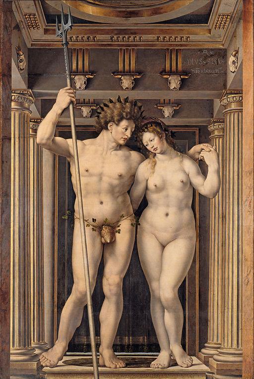Jan Gossaert Neptune and Amphitrite 1516