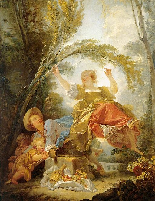 Jean-Honoré Fragonard The See-Saw 1750-1755