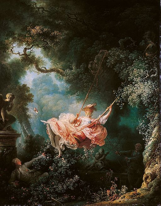 Jean-Honoré Fragonard The Happy Accidents of the Swing 1768
