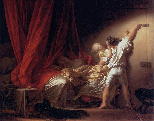 Jean-Honoré Fragonard The lock 1780