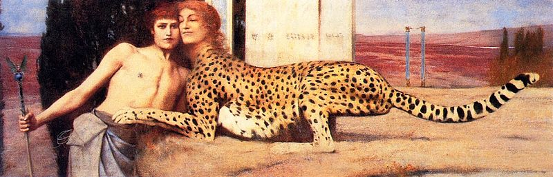 Fernand Khnopff The Sphinx 1896