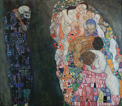 Gustav Klimt Death and Life 1915