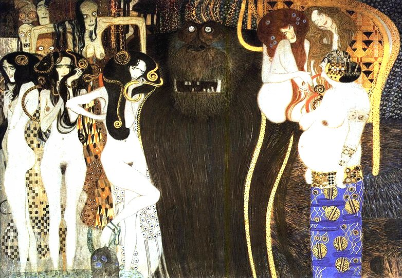 Gustav Klimt Beethovenfries 1902