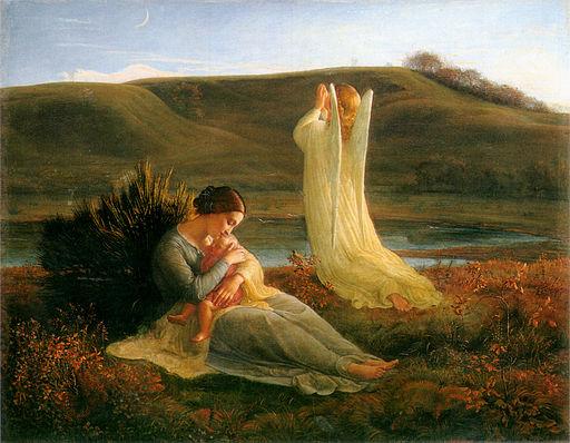 Louis Janmot L'Ange et la mère