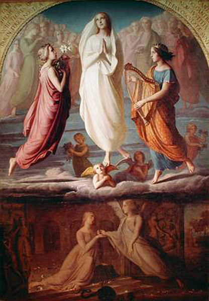 Louis Janmot Assumption of the Virgin 1892