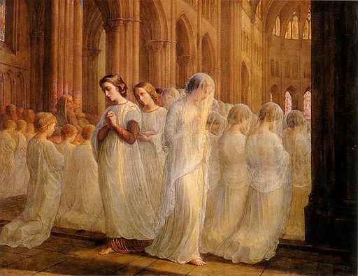 Louis Janmot Première Communion