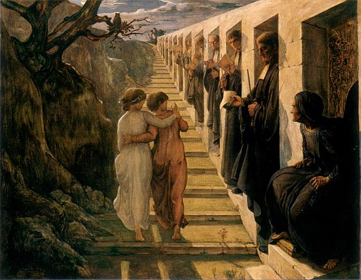 Louis Janmot Bad path 1854