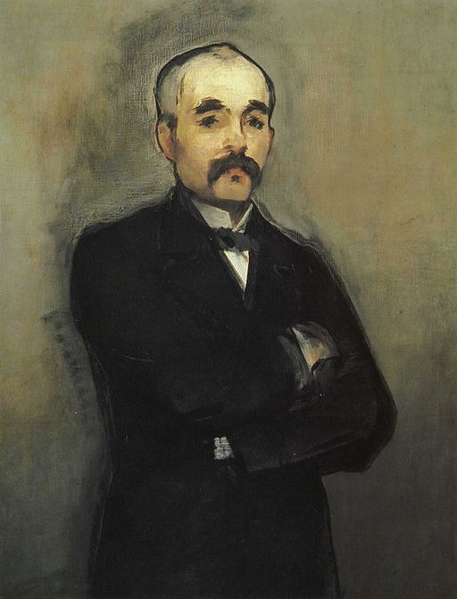 Édouard Manet Portrait of Clemenceau 1880