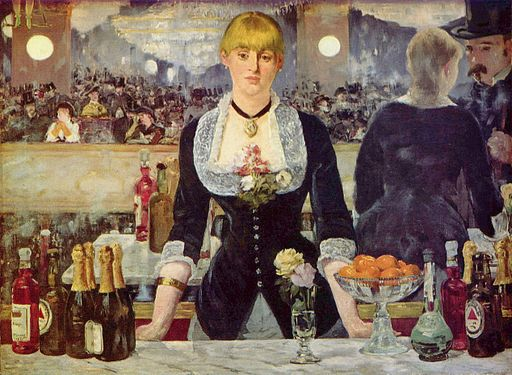 Édouard Manet A Bar at the Folies-Bergère 1882