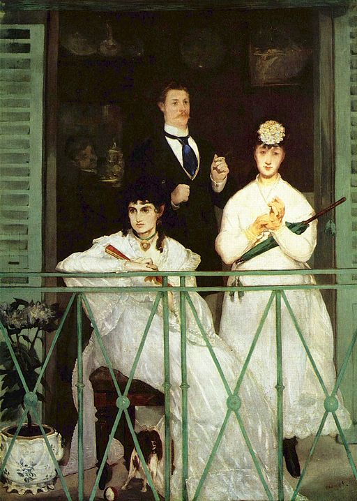 Édouard Manet The Balcony 1868