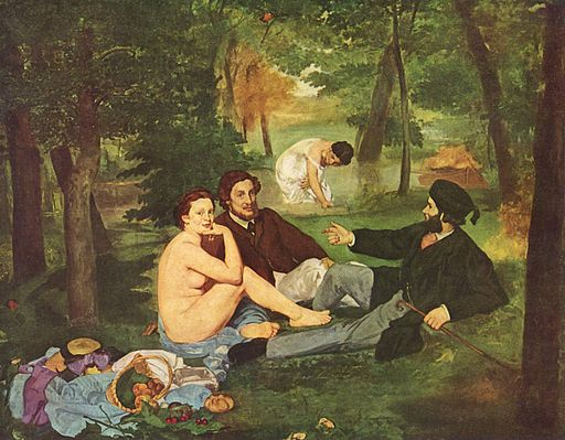 Édouard Manet Luncheon on the Grass 1862-1863
