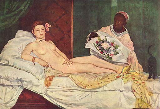 Édouard Manet Olympia 1863