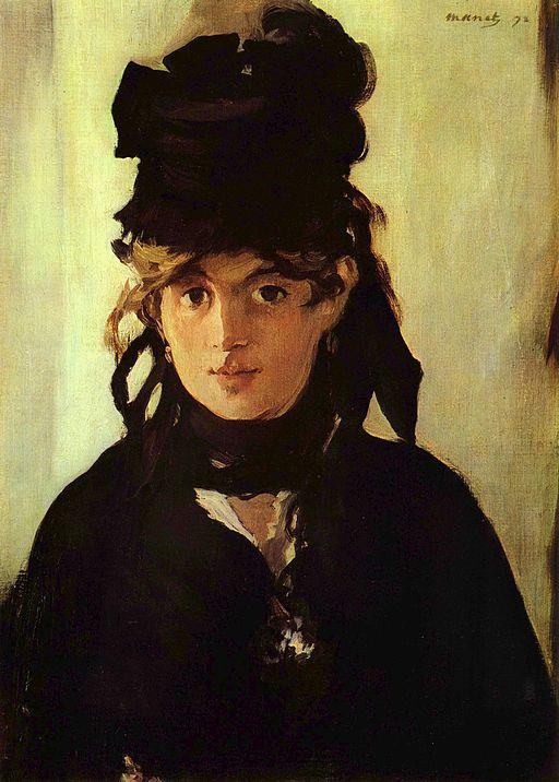 Édouard Manet Berthe Morisot au bouquet de violettes 1872