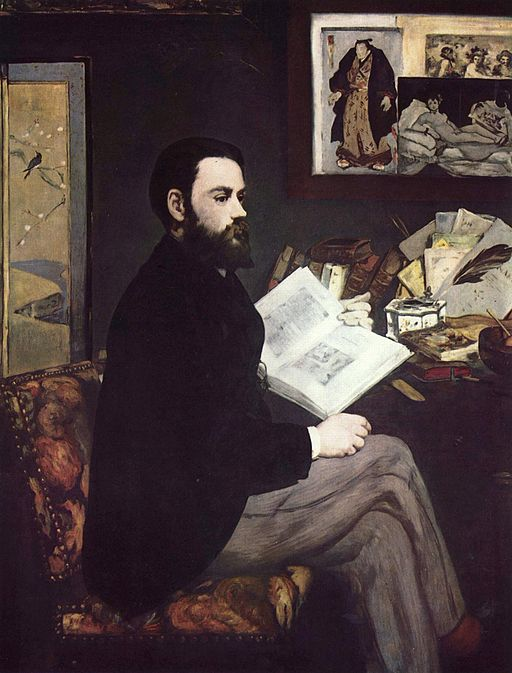Édouard Manet Portrait of Emile Zola 1868