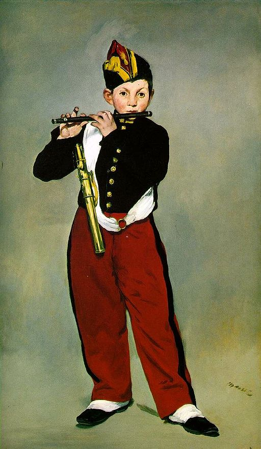 Édouard Manet Young Flautist 1866