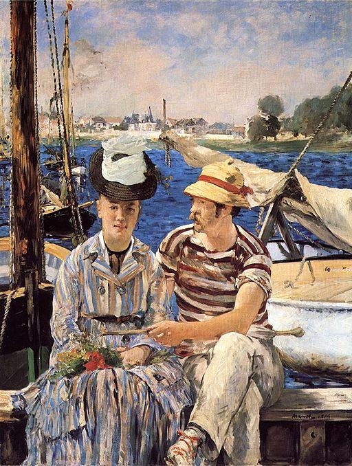 Édouard Manet Argenteuil 1874