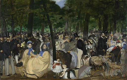 Édouard Manet Music in the Tuileries 1862