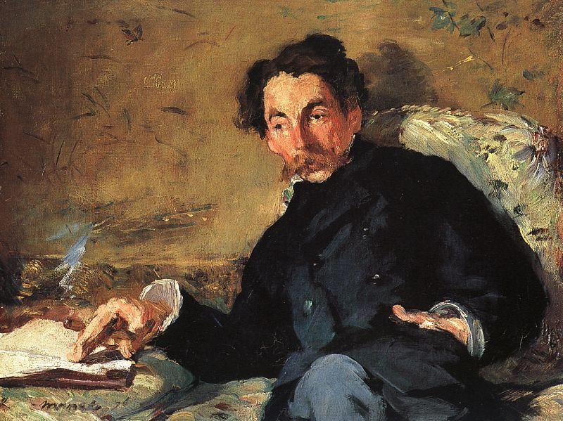 Édouard Manet Portrait of Stéphane Mallarmé 1876