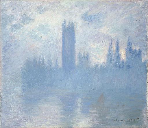 Claude Monet Houses of Parliament, London 1900-1901