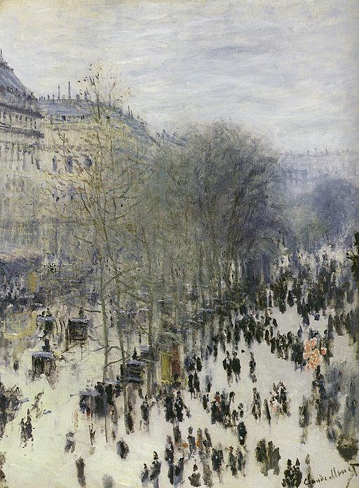 Claude Monet Le Boulevard des Capucines 1873