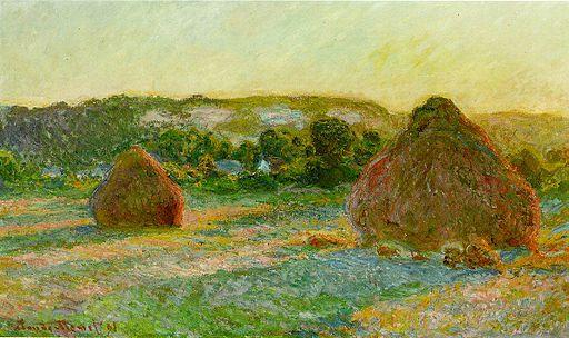 Claude Monet Haystacks, end of Summer 1890-1891