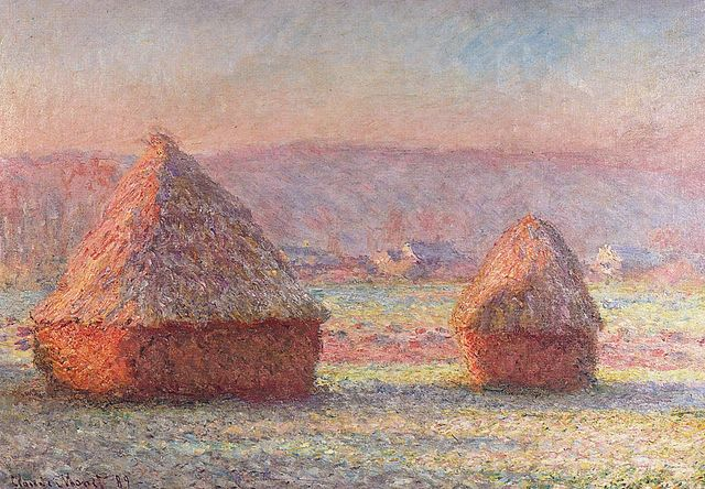 Claude Monet Stacks of Wheat 1888-1889
