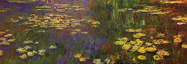 Claude Monet Water Lilies 1920-1926