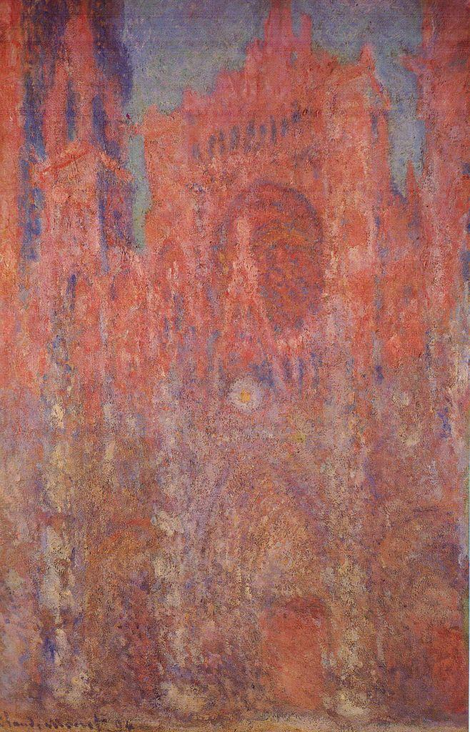 Claude Monet Rouen Cathedral 1892-1893